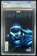 Infinity #1 CGC 9.8 Kubert Cover A featuring Thanos (Marvel 2013) Hickman Cheung