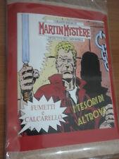 """MARTIN MYSTERE Busta fumetti + Calcarelli """"I tesori di Altrove"""" 8"""