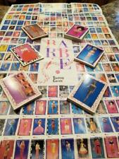 Vintage Lot Of 217 Barbie Fashion Trading Cards & Poster #0115-01