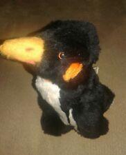 "Handcrafted Penguin Plush Stuffed Animal 8"" by Pauline's Original 1974"