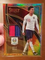 2020 DELE ALLI TIE-DYE PRIZM TWO COLOR PATCH 13/25 SSP - PANINI SELECT England