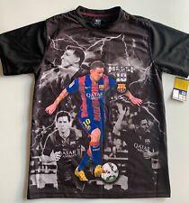 FCB Lionel Messi T-Shirt Performance S BARCELONA SOCCER QATAR Licensed NWT