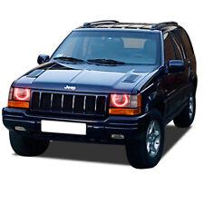 Jeep Grand Cherokee 93-98 CHS Multi-Color WIFI LED Headlight Halo Ring Kit