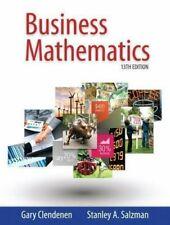 Business Mathematics 13th edition