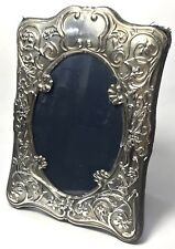 Solid Silver Carr's Of Sheffield Ltd Square Picture Photo Frame 291.5g 1991