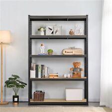 "71""H Garage Shelves Metal Storage Rack Heavy Duty Adjustable Shelves 5 Tiers"