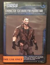 The GNOMON WORKSHOP Character Texturing for Production Materials Texturing DVD