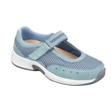 Orthofeet Bristol Womens Light Blue Mary Jane Shoes NW/OB