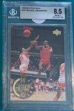 1995 1996 Upper Deck #137 Michael Jordan 1984-85 Rookie Years BGS 8.5