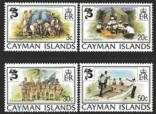 Cayman Islands 1982 Boy Scouts set of 4 Mint Unhinged