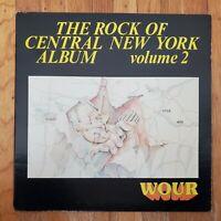 The Rock Of CNY Album Vol 2 WOUR 96.9 NM Vinyl LP VG+ Record Cover
