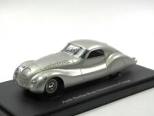 Autocult 04018 - 1936 Audi Berlin-Rom Stromlinien-Coupe - silber - 1:43 Limited