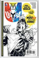 Multiversity: Ultra Comics #1 - 1 in 10 B&W Variant by Doug Mahnke! Nm