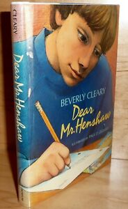 DEAR MR. HENSHAW Beverly Cleary SIGNED TRU HB 1st Printing SCARCE! Newberry 1984