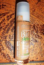 !!SALE!! BOURJOIS BIO DETOX ORGANIC FOUNDATION 30ML~ 58 DARK BRONZE~ BRAND NEW!