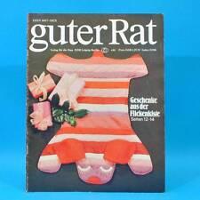 Guter Rat 4-1981 Verlag für die Frau DDR Ente Schulranzen Restalkohol Flicken B