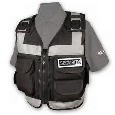 Protec Police and Security Black 5 pocket Advanced Utility Vest
