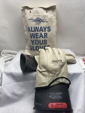 Salisbury 10 Length Lineman Gloves And Sleeves D120 Size 10 105 Class 0 E2