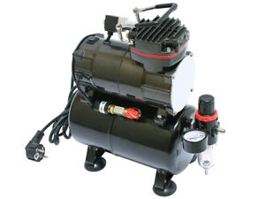 Airbrush compressor TC-88T 0 - 6 bar with air reservoir
