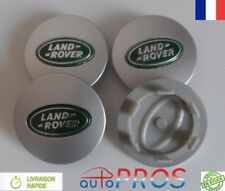 4 Cache Jante moyeux Centre roue Land Rover Range Freelander Discovery Vert 62mm
