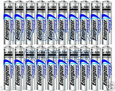 20 Energizer Ultimate AAA L92 Lithium Batteries
