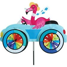 Flamingo Fun Car Vehicle Staked Wind Spinner With Pole Ground Mount.24 Pr 26757