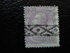 BELGIQUE - timbre - yvert et tellier n° 52 obl (A6) stamp belgium