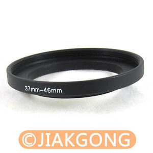37mm-46mm 37-46 mm 37 to 46 Step Up Ring Filter Adapter