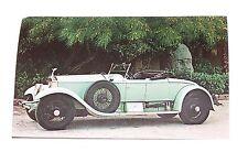 Vintage Postcard Post Card 1926 Rolls Royce Silver Ghost Roadster Body by Murphy