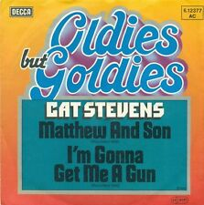 "CAT STEVENS- MATTHEW AND SON/ I`M GONNA GET ME A GUN  7""  (A 734)"