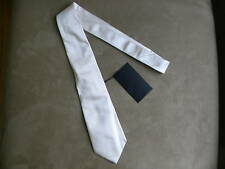 DSQUARED² RUNWAY CLASSIC CASUAL DRESS BEIGE IVORY TWILL SIGNATURE TIE