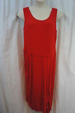 "Nine West Woman Dress Sz 16W Burnt Suns Red ""Urban Nomad"" Rayon Casual dress"