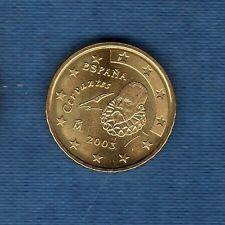 Espagne - 2003 - 10 centimes d'euro - Pièce neuve de rouleau -