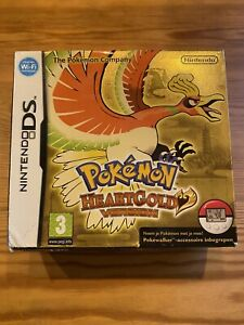 POKEMON HEART GOLD VERSION , BOX ONLY (NO GAME)