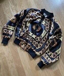 Vintage 80s 90s vintage Chanel chain Bomber Jacket Preserved Flawless Number 5