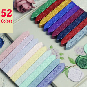 1PC Sealing Wax Stick Iris Pattern For Sealing Wax Stamp Wedding Letter Card