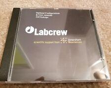 AMERSHAM BIOSCIENCE Labcrew Configuration + user manual +AKTADesign