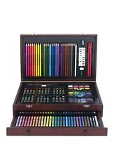 🔥Sale🔥142pc Art Drawing Set Kid Adult Sketch Paint Supplies Kit With Case