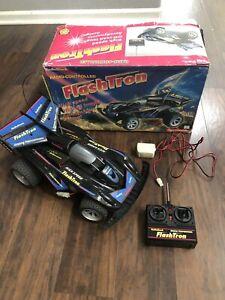 """Vintage Radio Shack """"Flashtron """"  Radio Controlled Car W/Mabuchi Motor"""