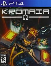 Kromaia Omega [PlayStation 4 PS4, Old-School Classic SCHMUP, 2D Shoot-em-up] NEW