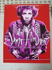 Jimi Hendrix On The Road Again Postcard - Excellent Condition, Thick Card Stock,