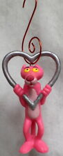 Pink Panther w/Heart pvc Ornament 1983 Bully Set Topper figure group
