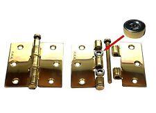 2 Stk Nr.139128-113 Möbelscharniere mit Zierkopf  Rechts  40 x 50mm