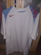 Nike Soccer Total 90 Training Jerseys Lot of 2 White and Black Men's Large