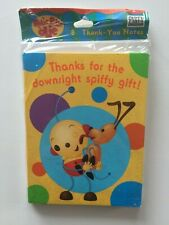 Hallmark Party Express Rolie Polie Olie Thank You Notes 8 Cards and Envelopes