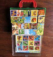 Vintage Hermann Eichhorn Germany Puzzle Block Cube Toy Complete Set VGC!