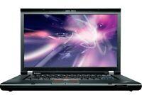 LENOVO THINKPAD T520 8GB RAM/128GB SSD & 500GB HDD/NVIDIA GRAPHICS/HD+ SCREEN~