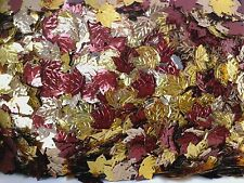 12g AUTUMN LEAVES CONFETTI SEQUINS/TABLE CONFETTI, CRAFT EMBELLISHMENTS