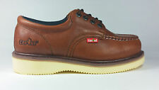 Cactus Work Shoes 422M Light Brown Real Leather Moc Toe New In Box