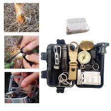 Survival Kit Outdoor Notfallausrüstung Wilderness Adventures SOS Blanket